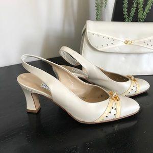 Cream Giampiero High heels - size 36